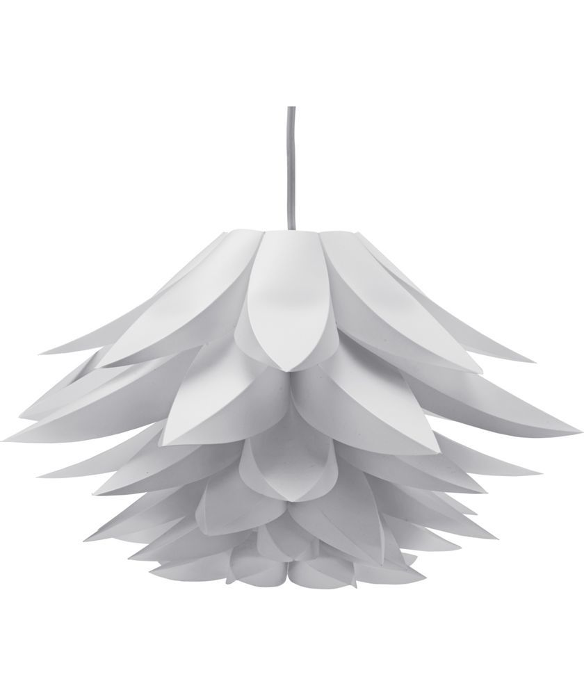 buy collection lotus shade white at your. Black Bedroom Furniture Sets. Home Design Ideas