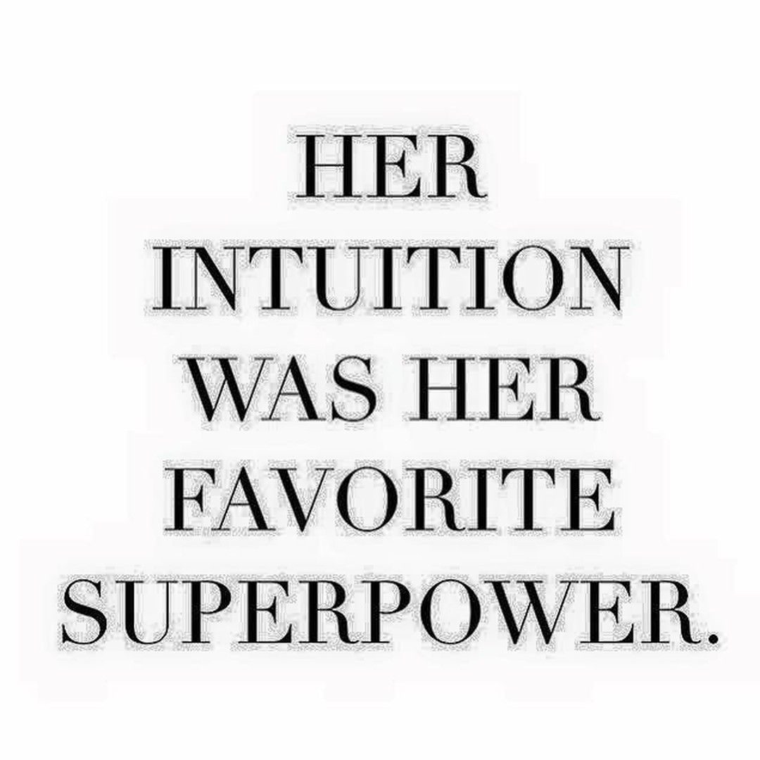 Mean #Business   Trust your intuitionit is your super power