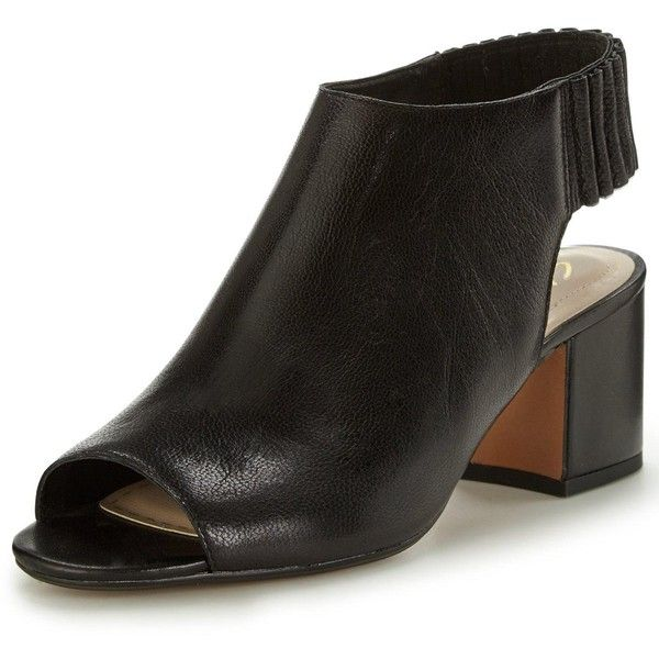 9d1ca5543fd Clarks Barley Charm Peep Toe Shoe Boot ( 44) ❤ liked on Polyvore featuring  shoes