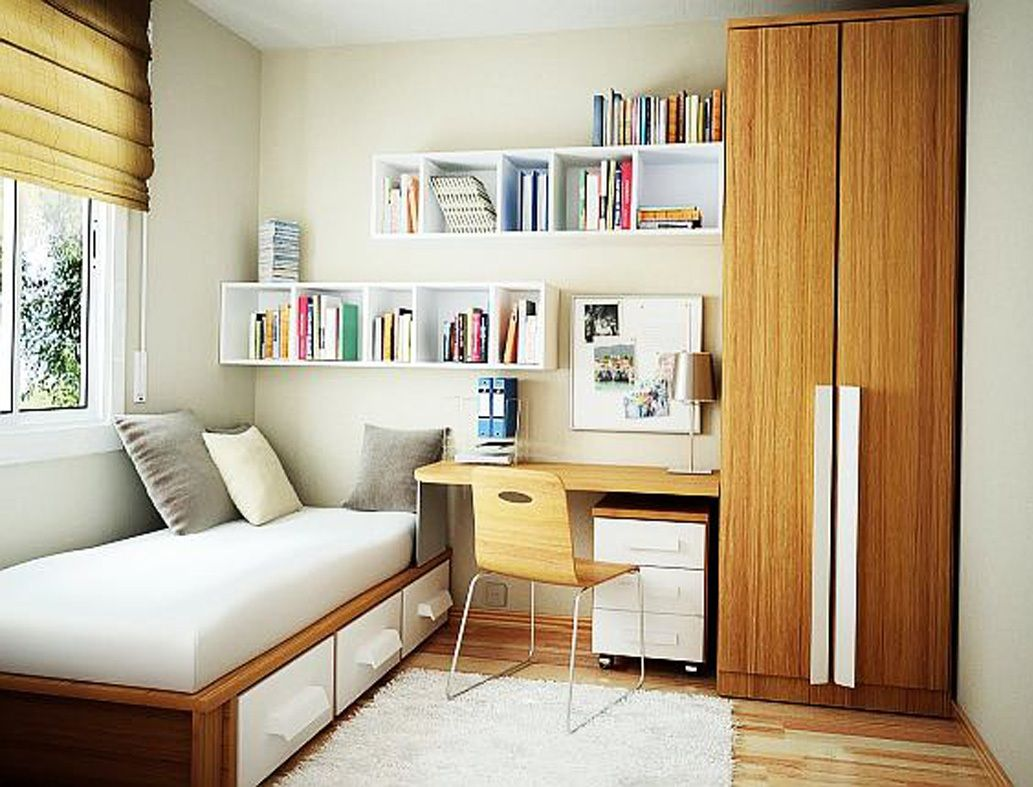 20 Awesome Small Bedroom Ideas Bedroom Interior Small Room Design Small Room Bedroom