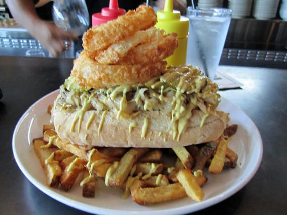 """God Almighty: The Texas """"Haute"""" Dog @ Max's Wine Dive in Houston, Tx."""
