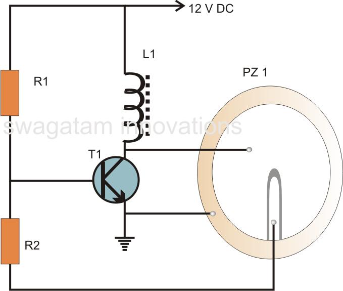 pins daddy simple buzzer circuit piezo electric explained picture to rh pinterest com Simple DC Circuit Diagram Problems Simple Inverter Circuit Diagram