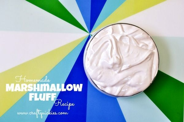Homemade Marshmallow Fluff: seems easy enough when you are in a pinch and don't have fluff on hand. #homemademarshmallowfluff Homemade Marshmallow Fluff: seems easy enough when you are in a pinch and don't have fluff on hand. #homemademarshmallowfluff