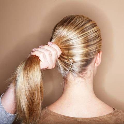 lange haare hochstecken? kein problem! | schnelle frisuren