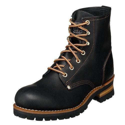 Skechers Men's Cascades Logger Boot, Black Oily, 9.5 M Skechers http://