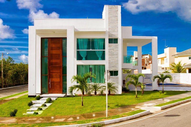 fachadas de casas modernas com linhas retas veja modelos