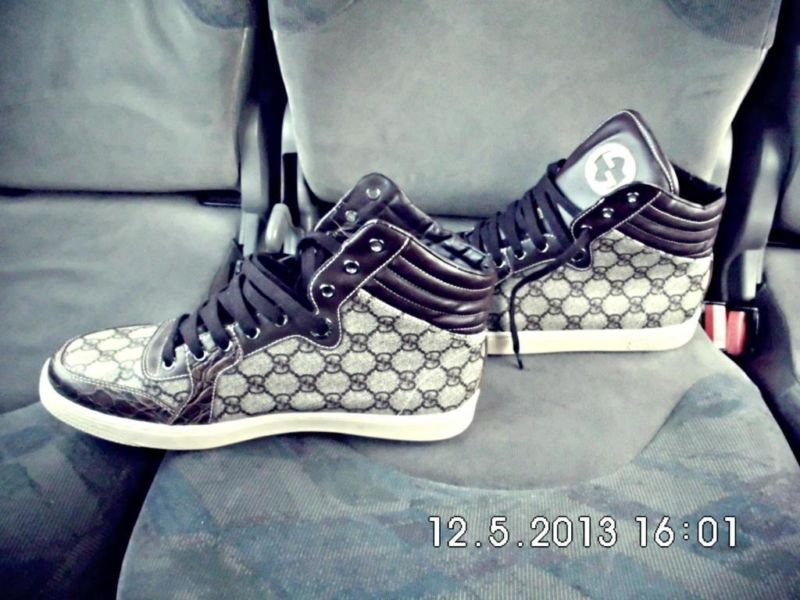 Original Brown and White Gucci sneakers | Sandton | Gumtree South Africa |  109467976