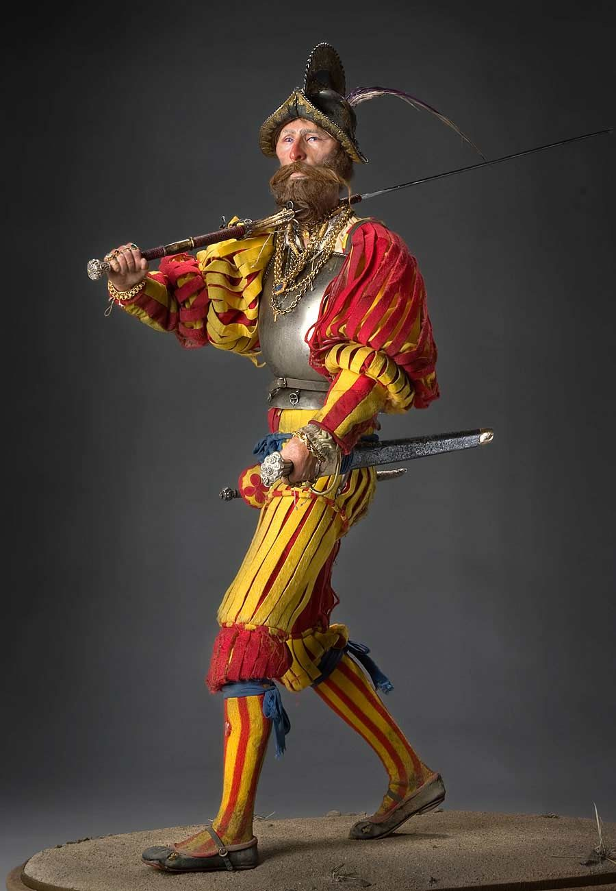 Landsknecht - Personifications of Butchery, Pillage & Rapine