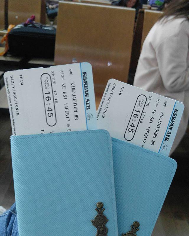 안개때문에 대한항공 직항으로 바꿔주셨다👍👍👍방콕으로 출발✈✈ . . #인천공항 #방콕 #bangkok #대한항공 #여행 #여행스타그램 #trip #travel #travelgram #여행에미치다
