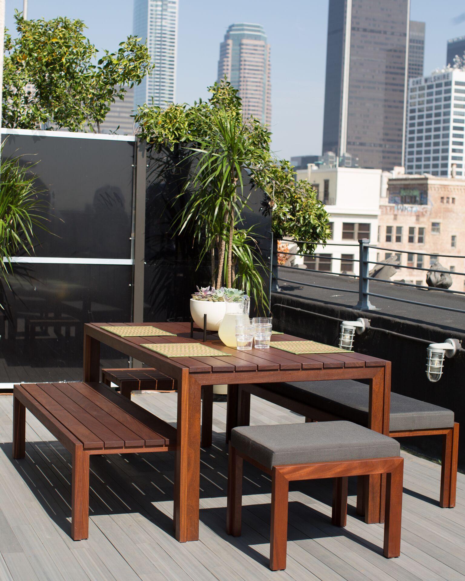 Modernica case study teak furniture