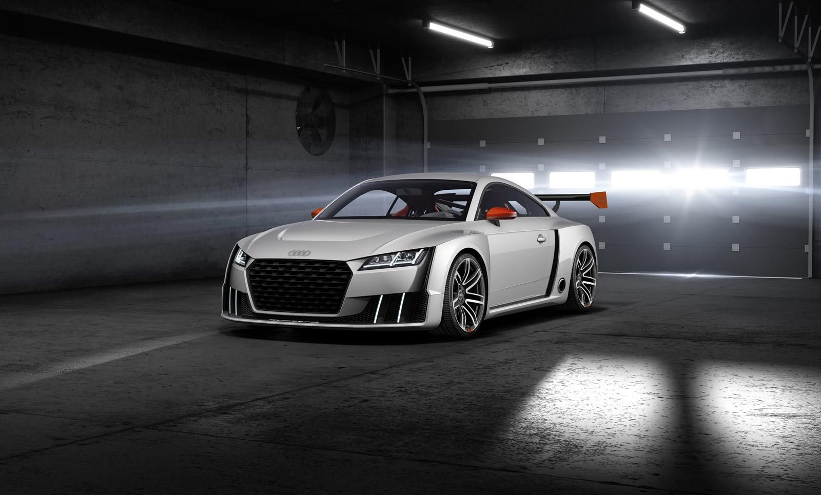 Audi TT clubsport turbo concept with 2.5