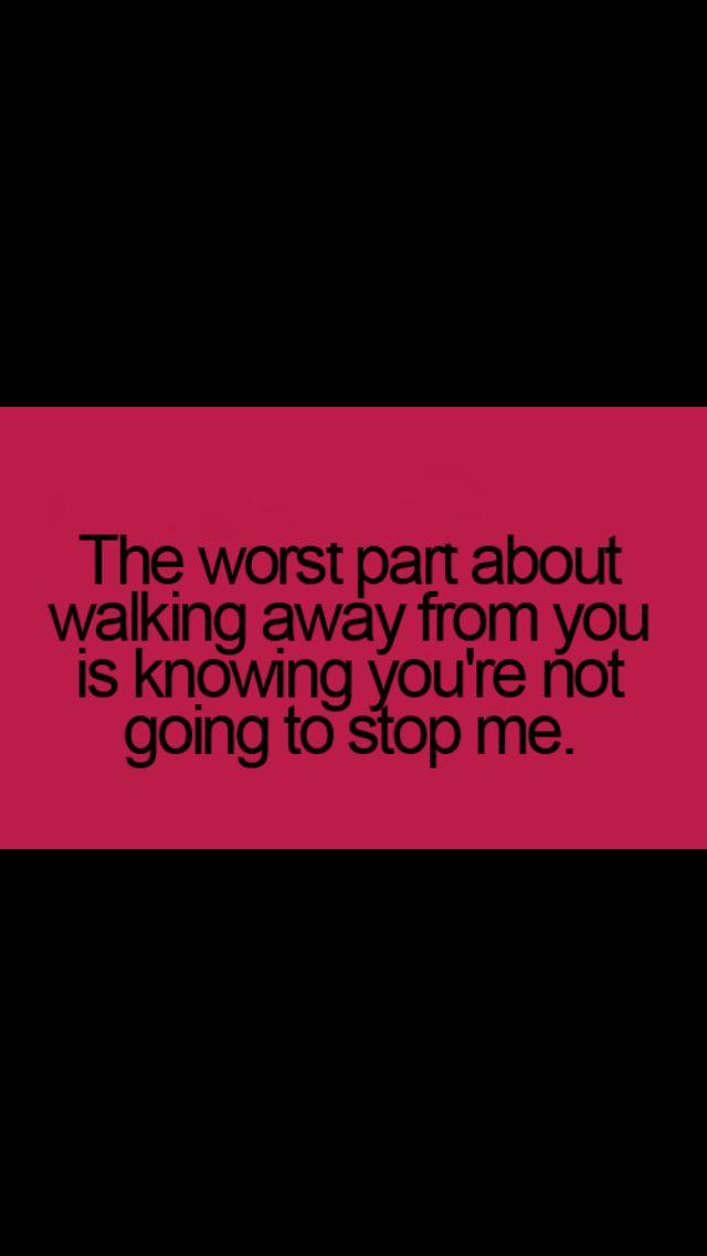 Heartbroken Its True That He Will Not Stop Me Will Not Miss