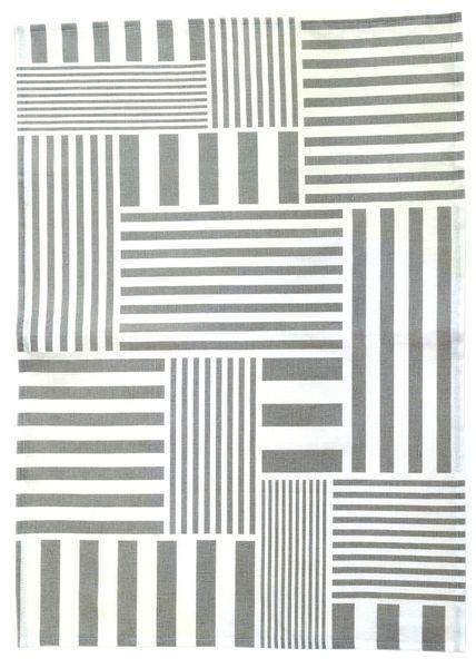 Muovo Stripes tea towel