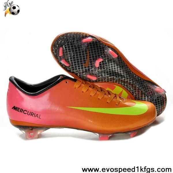 Buy Latest Listing Pink Yellow Green Nike Mercurial Vapor IX FG Football  Boots On Sale