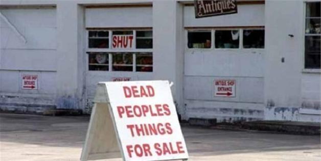 Honest antique store sign (via smosh.com, http://aka.ms/honestsigns)