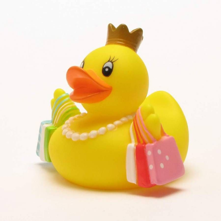 Badeente Shopping Queen Plastikente Quietscheentchen Gummiente Quietscheente Ebay Rubber Duck Rubber Ducky Duck