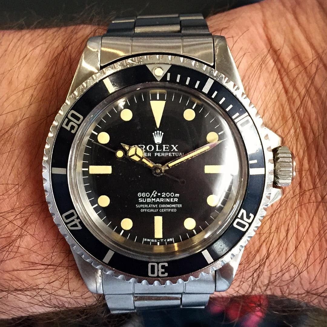 """""""Time to head home and this unexpected souvenir is #womw . #vintagerolex #rolex #submariner #5512 #chronometer #diver #divewatch #icon #iconic #classic…"""""""