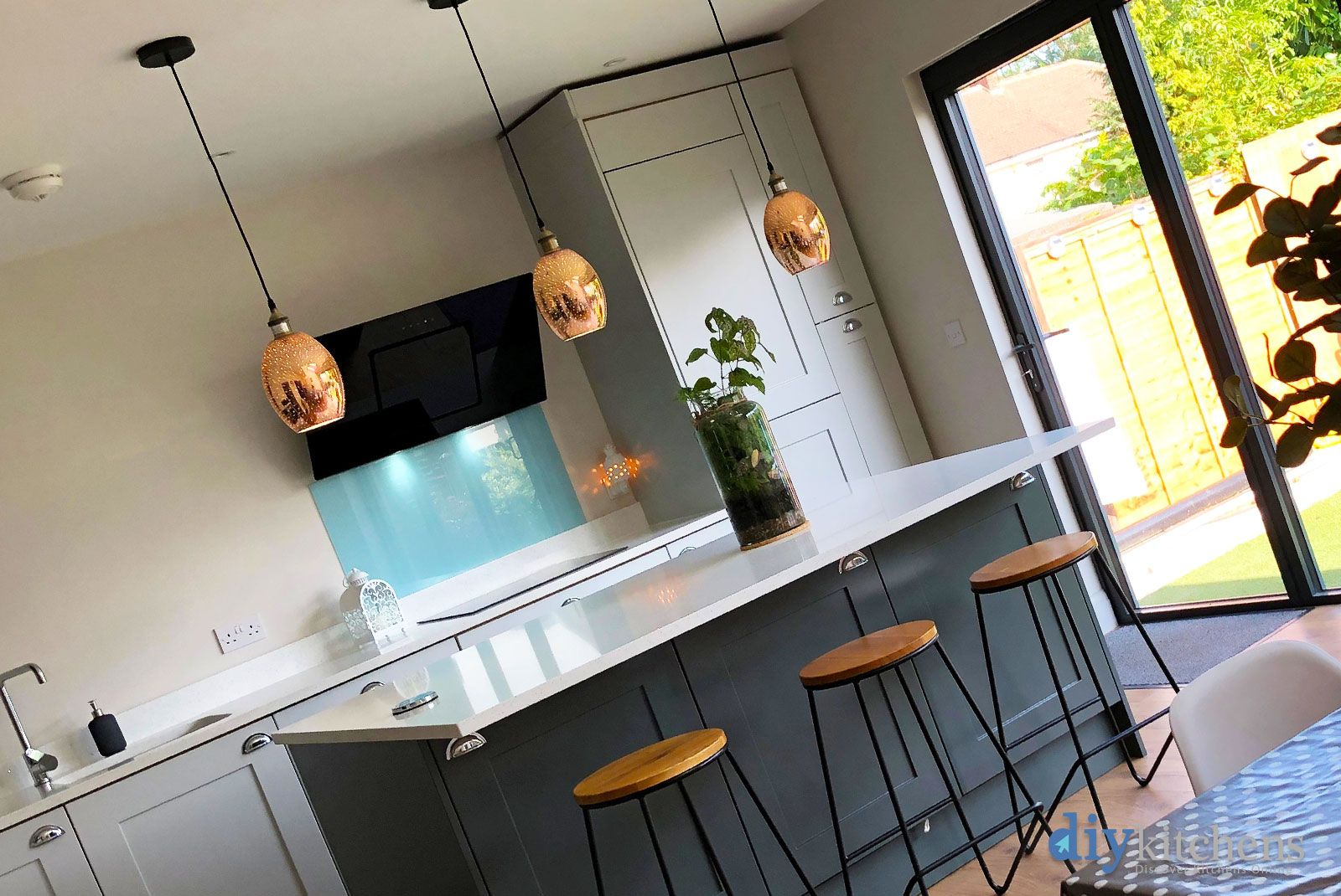 Best An Innova Stanbury Dove Grey Shaker Kitchen Cheap 640 x 480