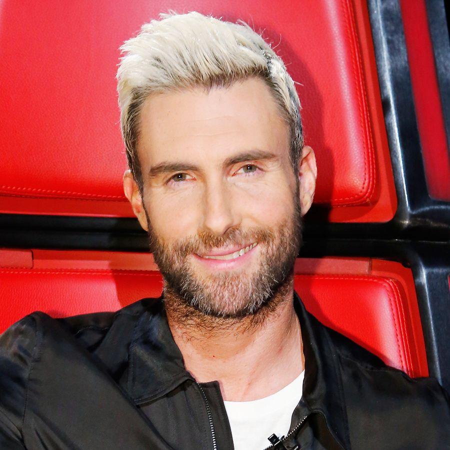 adam levine's changing looks   beautiful one: adam   bleach