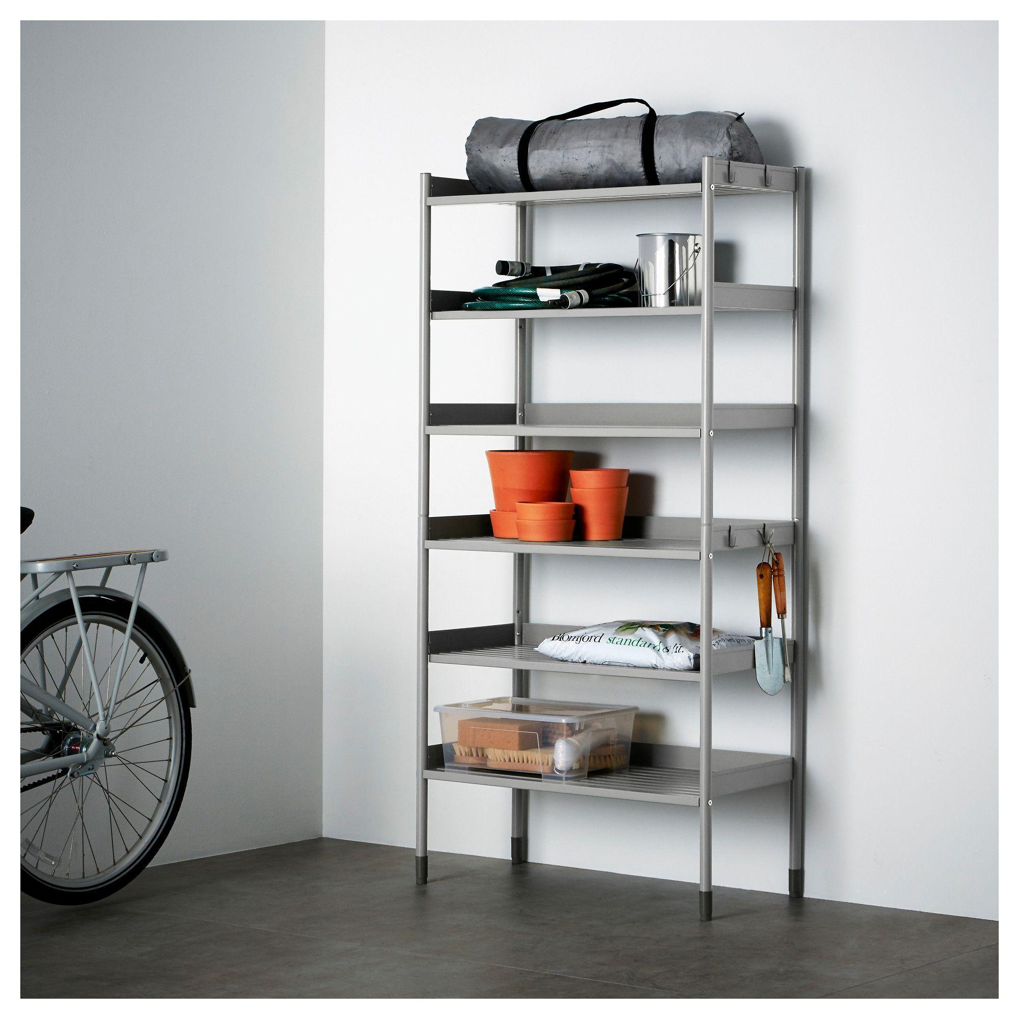 Hindo Regal Innen Aussen Grau Hausmobel Regal Ikea