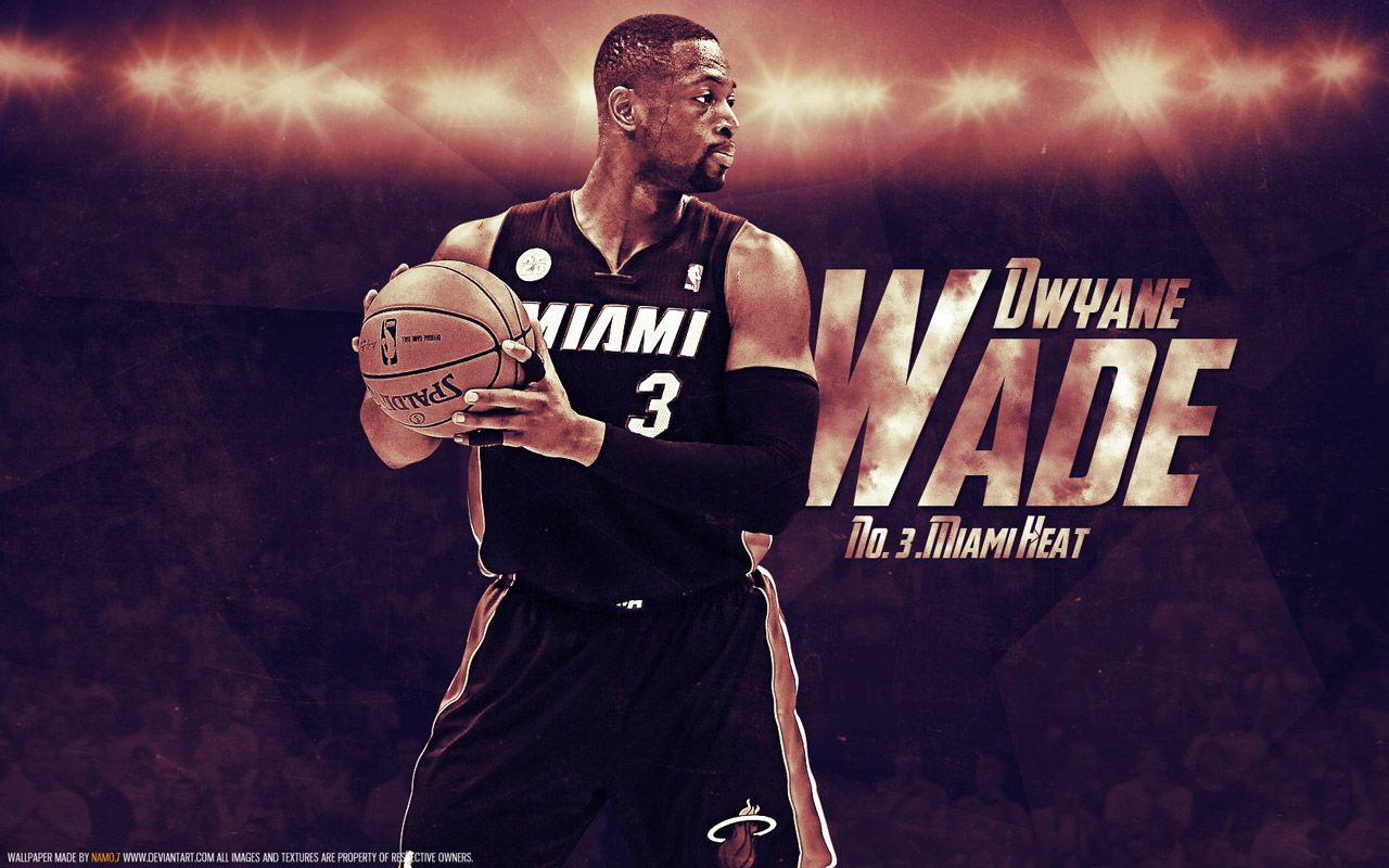 And One New Wallpaper Of Dwyane Wade For All Heat Fans Full Size Available At Http Www Basketwallpapers C Dwyane Wade Wallpaper Dwyane Wade Nba Wallpapers