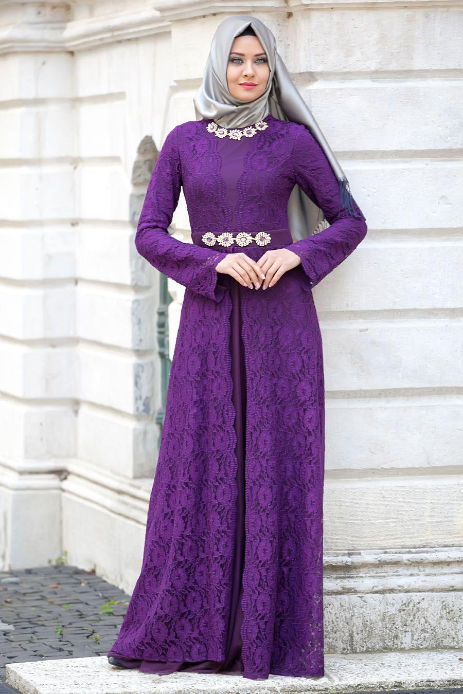 f12bfccc496a4 Tesettürlü Abiye Elbiseler - Tesetturisland.com   ♥♥ Loved ...