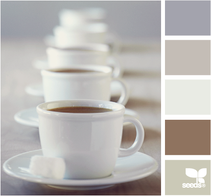 Design Seeds®: For All Who Love Color | coffee tones - via http://bit.ly/epinner