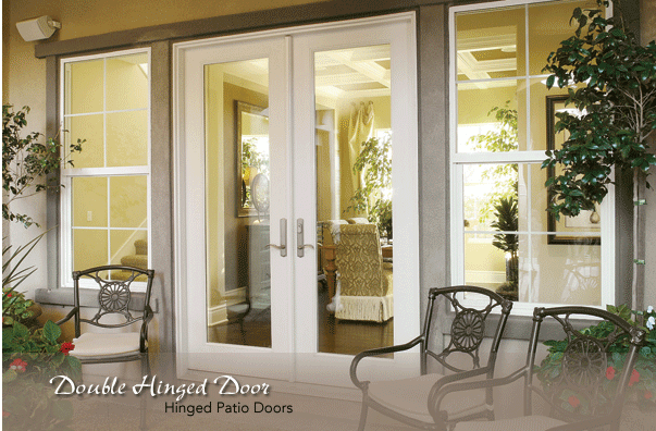 Marvelous French Doors Patio · Double Hinged U003cbu003eDooru003c/bu003e Units Provide The Beautiful  Look Of