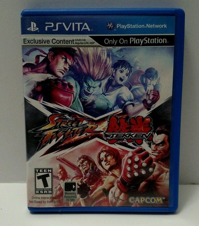 Street Fighter X Tekken ( Sony Playstation PS Vita 2012