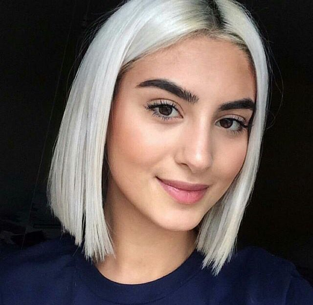 Pinterest Soowahn With Images Short White Hair Silver Hair