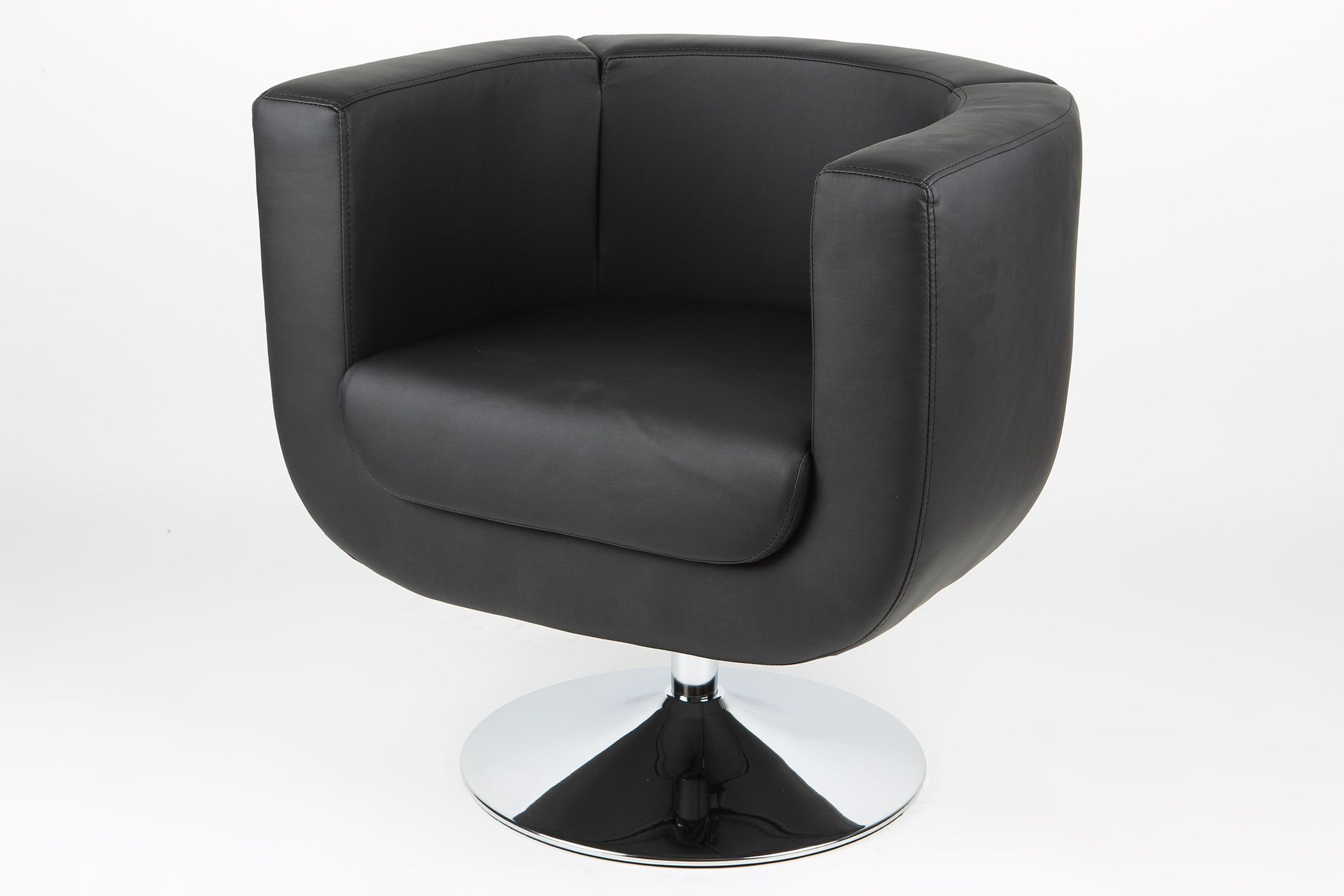 Bliss Chair Leatherette Black