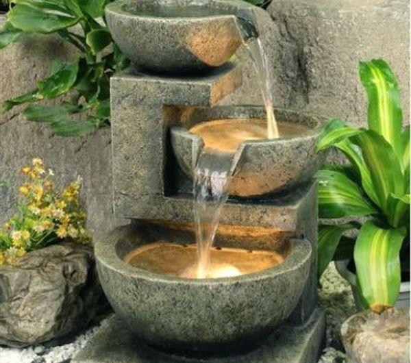 Fontaine De Jardin Leroy Merlin Pierre Cascades Et