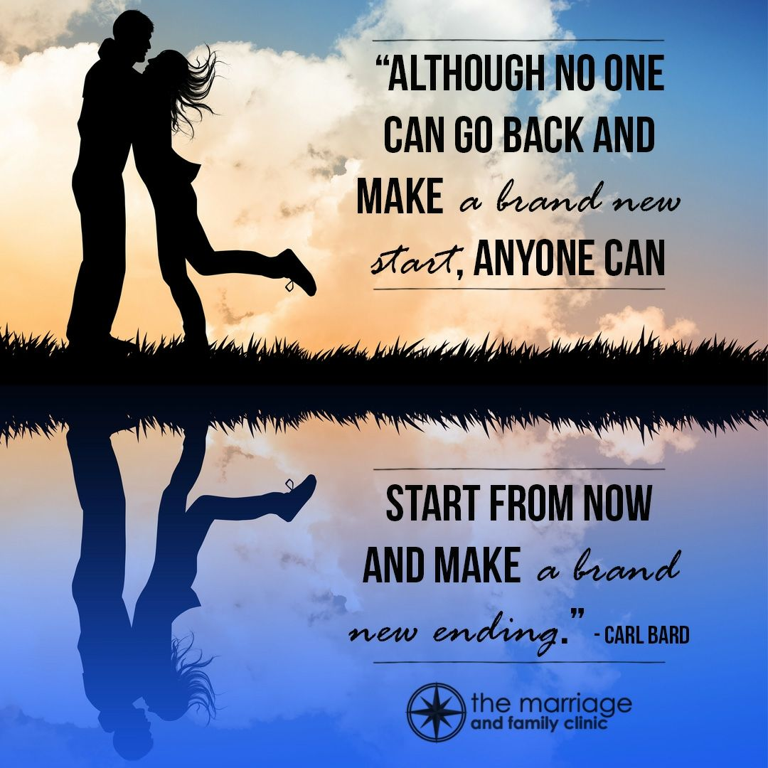 You can't erase the past or even re-start from the beginning, but you can change NOW to create your own happily ever after ending! #marriagetakeswork #yourmarriageisimportant #loveyourspouse #change #newending #love #quotetoliveby