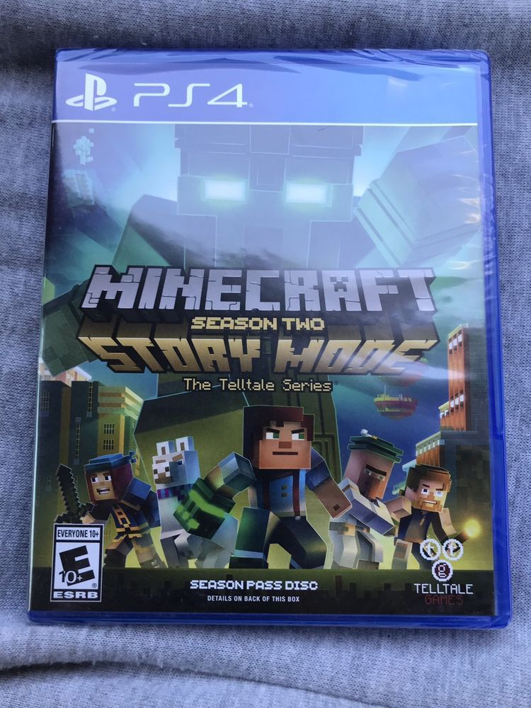 Playstation 4 Minecraft Season Two Story Mode Brand New