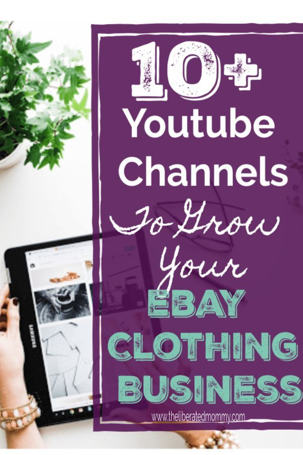 17a1300f2bee8 Learn all about selling clothing on ebay with these Youtube channels. They  will help you