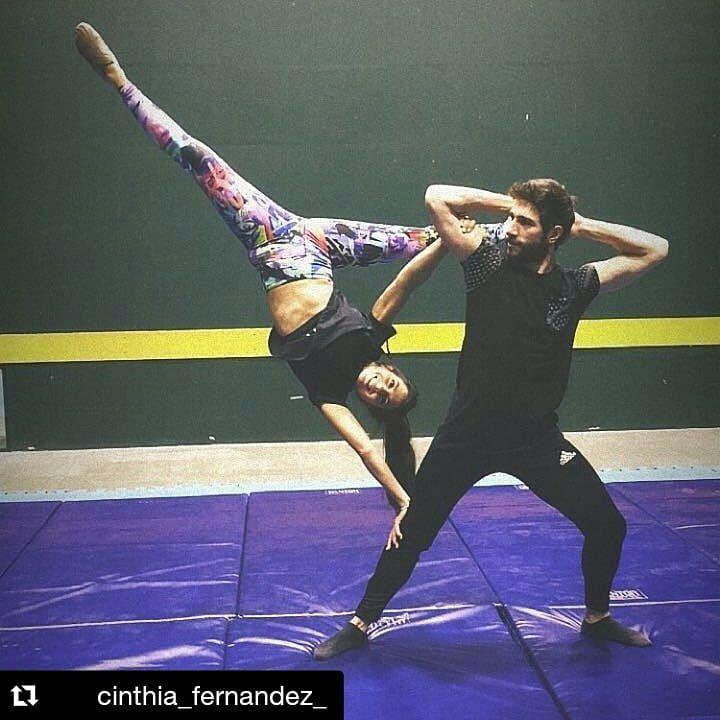 #yogaposes Mariano Ariel Rabade on Instagram: #Repost @cinthia_fernandez_ (@get_...
