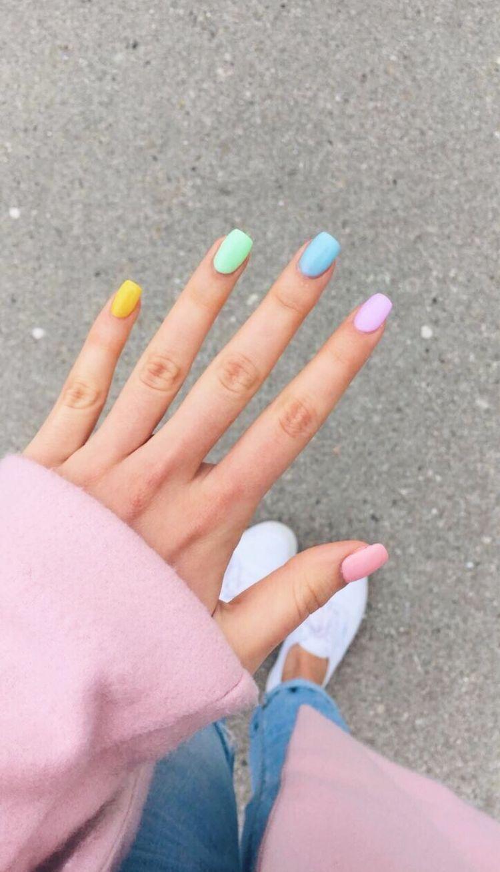 P I N T E R E S T Lotaxxlove Short Acrylic Nails Designs Short Acrylic Nails Color For Nails