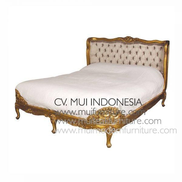 Living Room Translate To Indo: Baroque Antique French Bed