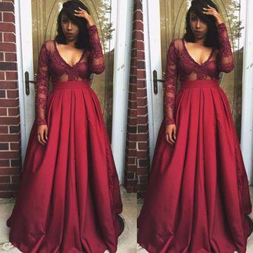 Illusion Prom Dresses 2018