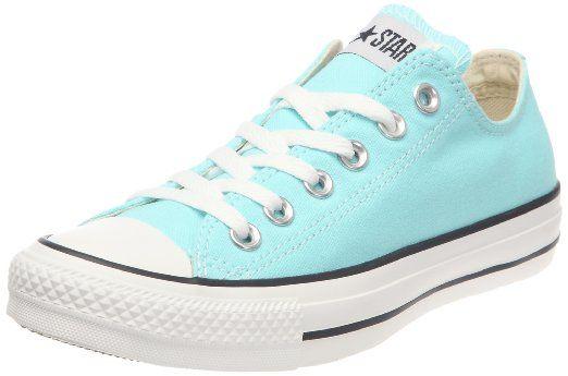 e0157df854e Amazon.com  Converse The Chuck Taylor All Star Ox Sneaker  Clothing- Aruba  Blue