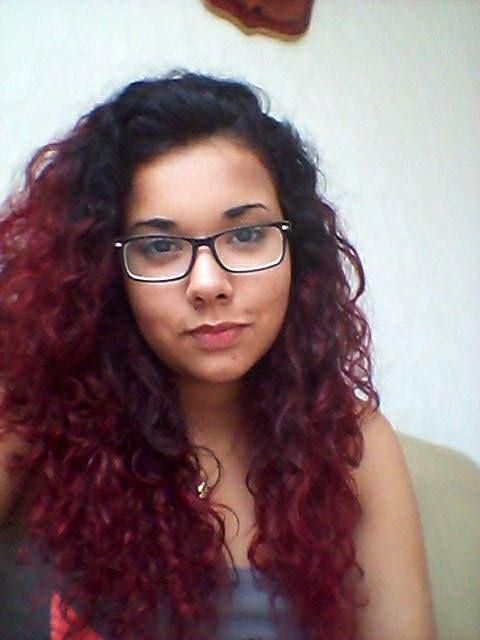 Resultado de Aleja Marquez usando Rock it Red. :)