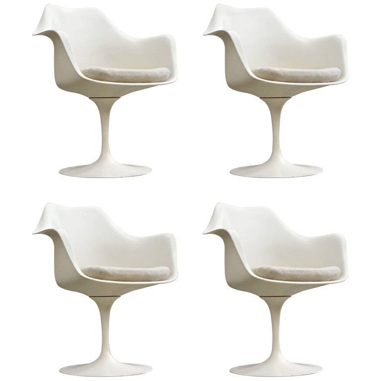 Knoll dining room chair saarinen tulip swivel armchairs