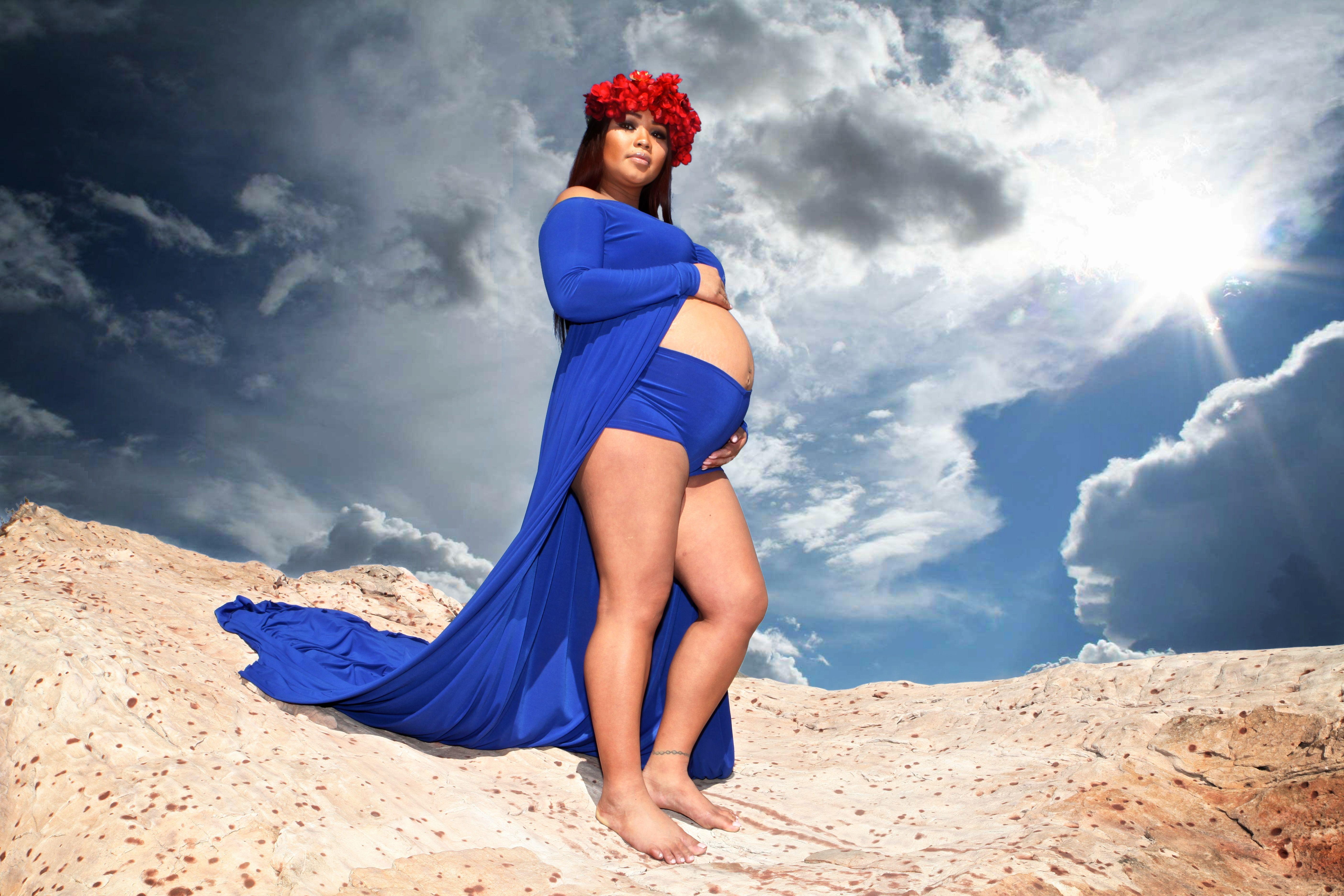 14+ Open belly maternity dress ideas in 2021