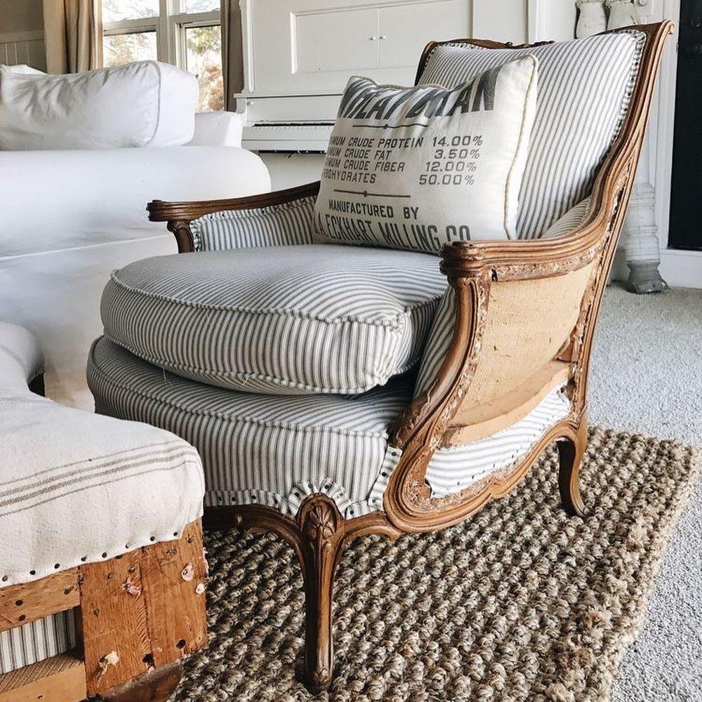 pingl par dominique giraudet sur fauteuil pinterest fauteuils rembourrage et chalet. Black Bedroom Furniture Sets. Home Design Ideas