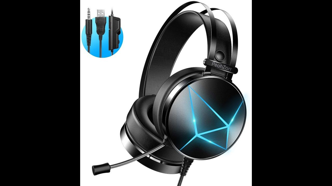 Peohzarr Gaming Headset Ps4 Headset Xbox One Headset With 7 1 Surround S Gaming Headset Xbox One Headset Headset