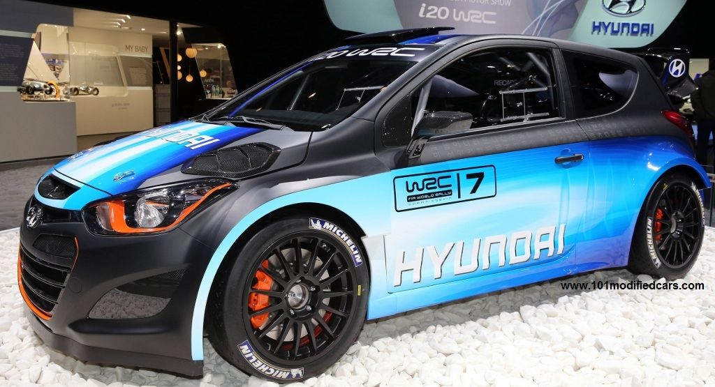 101 Modified Cars Modified Hyundai I20 Wrc Evo Hyundai