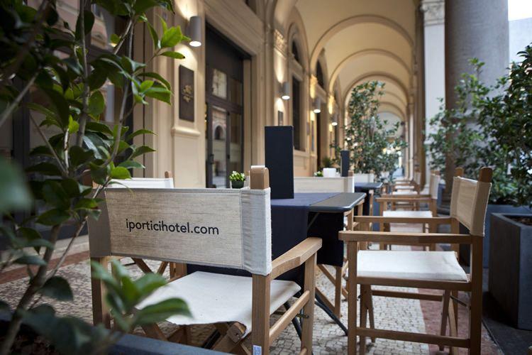 Lounge Bar I Portici Hotel Bologna Buongiorno Bologna