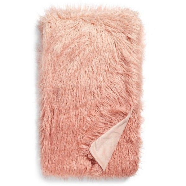 Nordstrom 'Ombre Flokati' Throw 40 Liked On Polyvore Featuring Custom Flokati Throw Blanket