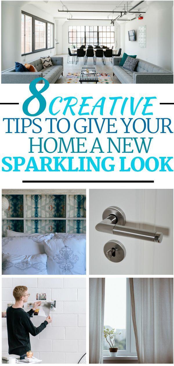 48 Creative DIY Home Decor Ideas To Give Your Home A Sparkling Look Unique Diy Home Decor Ideas Pinterest Creative