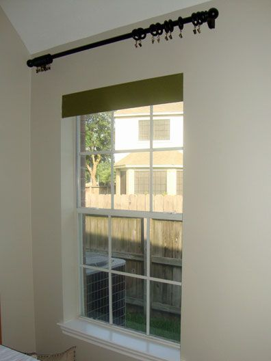 there is a roller shade mounted inside the window of my sonu0027s bedroom the roller shade is not exactly what iu0027d call stylish